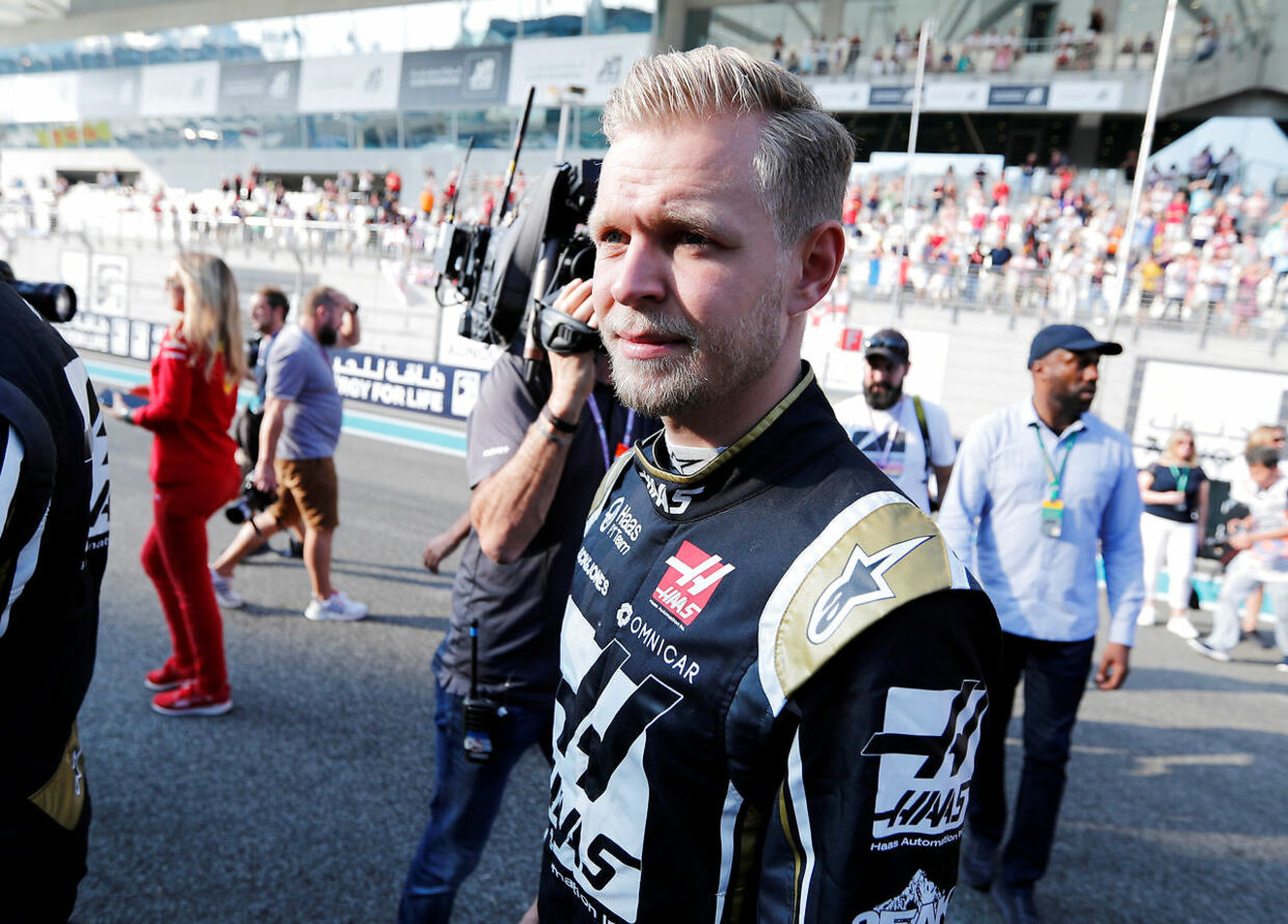 Formula One F1 - Abu Dhabi Grand Prix - Yas Marina Circuit, Abu Dhabi, United Arab Emirates - December 1, 2019 Haas' Kevin Magnussen before the race REUTERS/Hamad I Mohammed