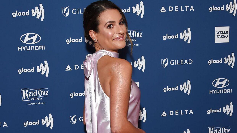 Lea Michele spillede rollen Rachel Berry i serien 'Glee'.
