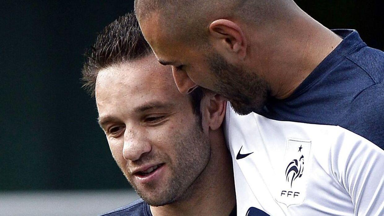 Benzema og Valbuena har haft et meget bedre forhold end det, der er nu.