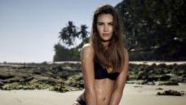 26-årige Simone forlod hurtigt villaen igen. (Foto: Discovery Network Denmark)