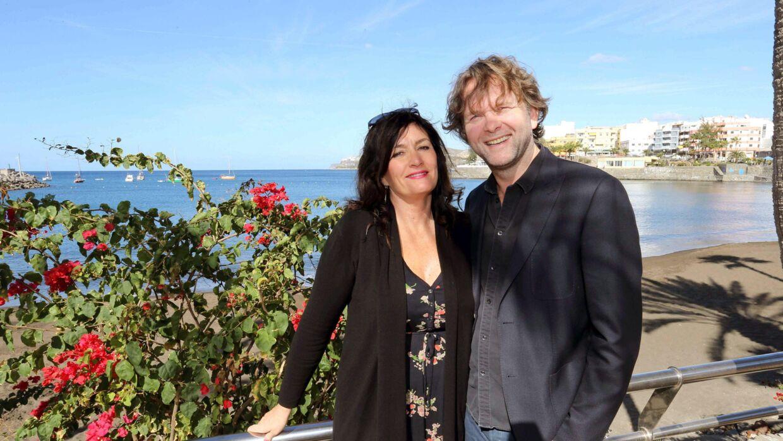 Mari Jungstedt og Ruben Eliassen dengang de stadig var et par.