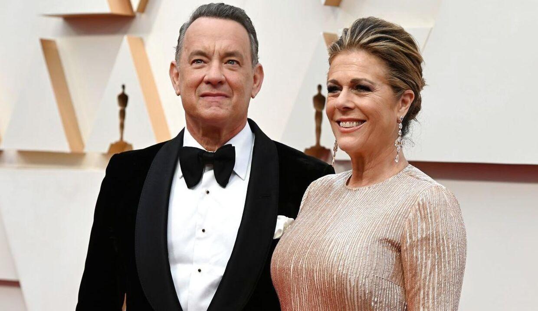 Tom Hanks og hustruen Rita Wilson