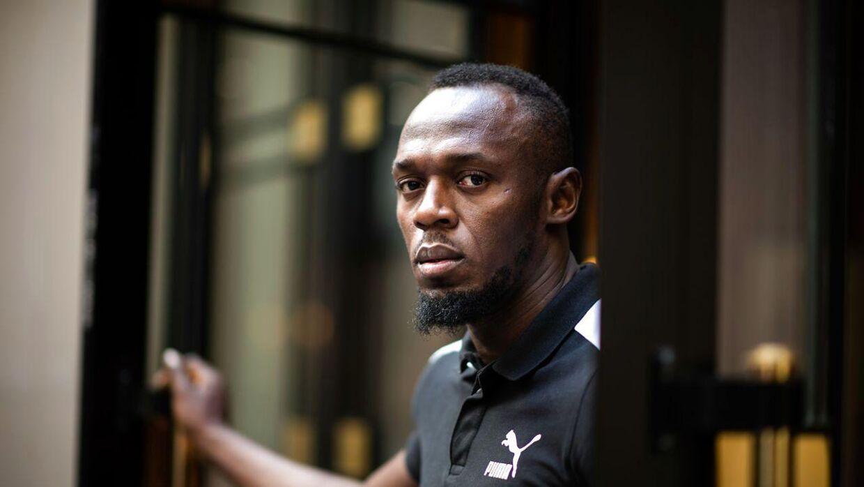 33-årige Usain Bolt.