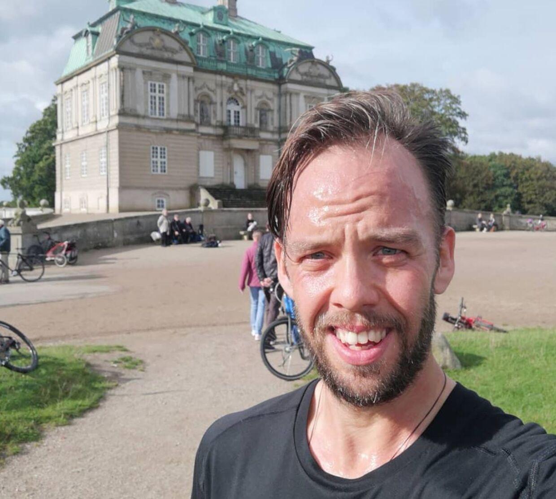 Martin Alber har nået en vægt, hvor han har det godt, men han kunne godt tænke sig at få endnu flere muskler på kroppen, og det kræver motion (Privatfoto)