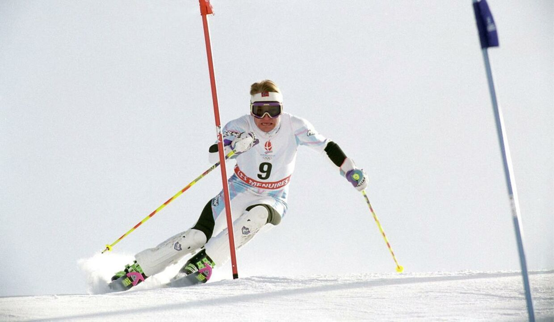 Finn Christian Jagge ved vinter-OL i 1992 i Albertville.