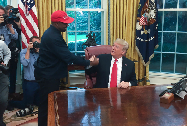 Kanye West blev angiveligt skuffet, da han hørte, at Donald Trump havde søgt tilflugt i et beskyttelsesrum under Det Hvide Hus.