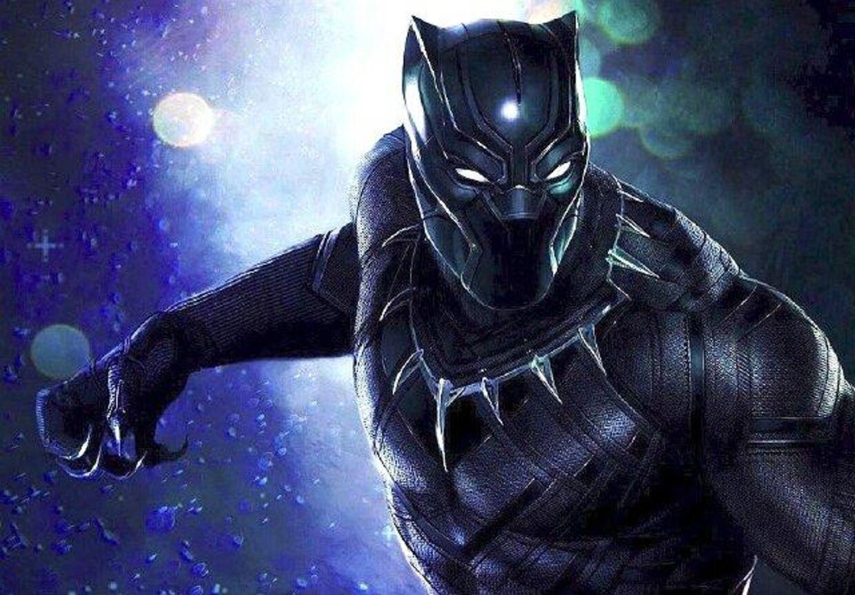 Fra filmen 'Black Panther'.
