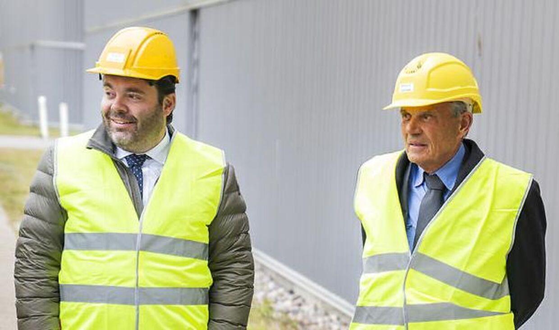 Karsten Ree md sin ældste søn, Christian, som i flere år arbejdede for faren i Europcar og er fortsat som direktør under de nye ejere.