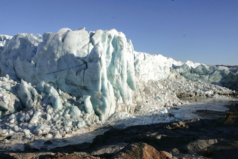 Indlandsisen smelter med rekordfart (Foto: Ernst Van Norde/Scanpix 2012)