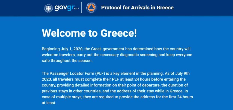 Udfylder man ikke en såkaldt PLF-blanket, inden man ankommer til Grækenland, får man en bøde på 500 euro.