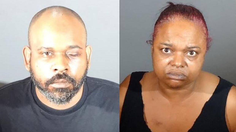 Sikkerhedsvagten Umeir Hawkins er tiltalt for mord. Hans kone, Sabrina Carter, er medtiltalt, fordi hun havde en pistol.