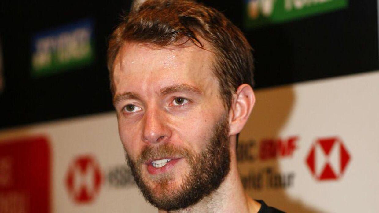 Carsten Mogensen ved All England Open Championships i 2018.