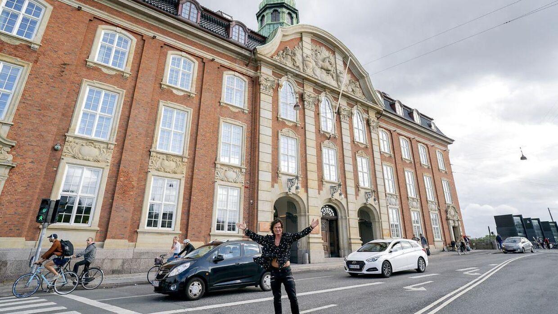 Petter Stordalen på hans nye hotel i København, Villa Copenhagen.