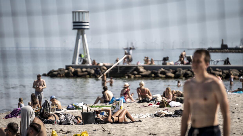 Vejret bliver snart varmere. Men kun for en kort stund. (Foto: Mads Claus Rasmussen/Ritzau Scanpix)