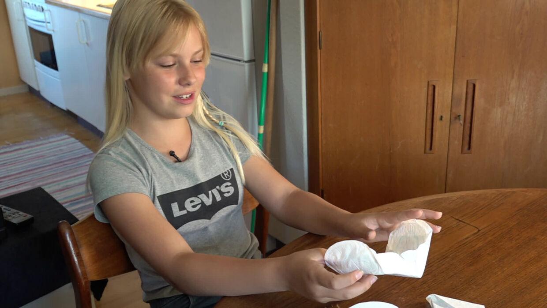 Cecilie Thunø Hansen kæmper for mindre bind. (Foto: TV 2 Østjylland)