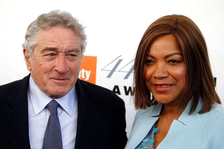 Robert De Niro og hans ekskone Grace Hightower.