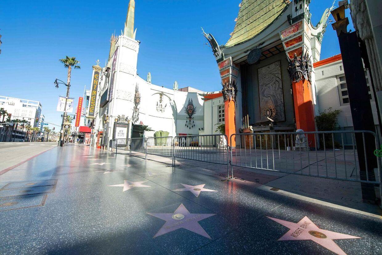 Hollywood gik i stå og ligger stadig øde hen.