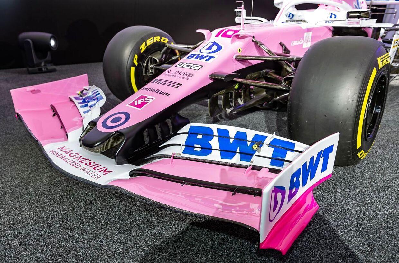 Den 'lyserøde Mercedes', Racing Point-raceren.