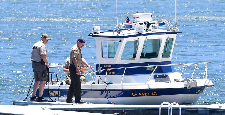 Politiet leder efter Naya Rivera på den californiske sø 13. juli.