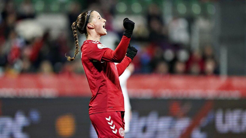 Nicoline Sørensen har spillet over 30 landskampe for Danmark.