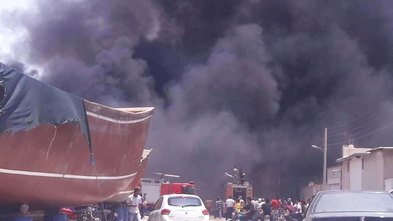 Endnu en brand raser i Iran, som i de seneste uger har været ramt af en længere række hændelser.