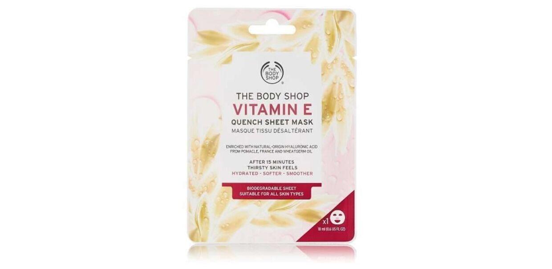 Med denne maske fra the Body Shop kan du tilføje din hud fugt, så den ser frisk og dejlig ud igen.