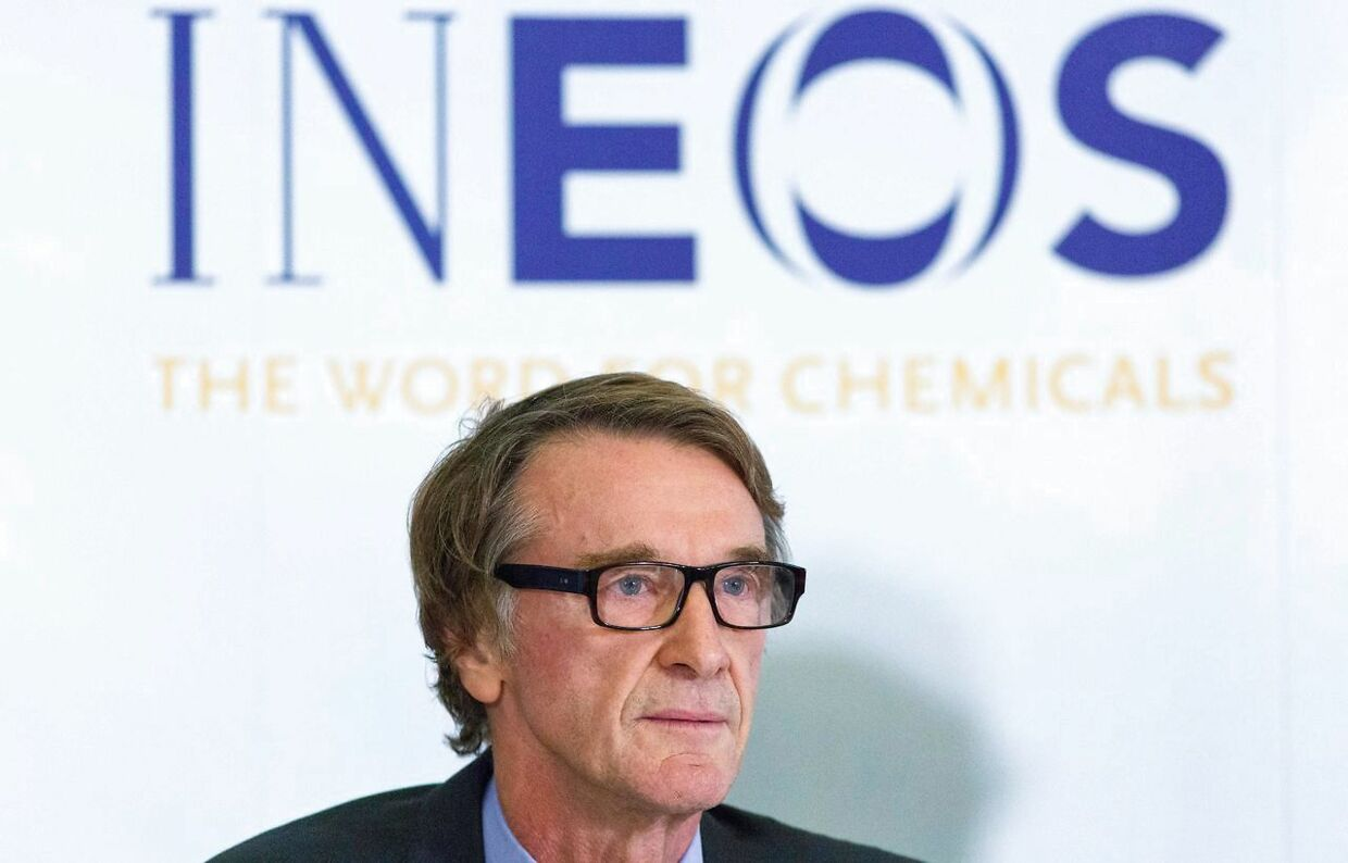 Den britiske rigmand Jim Ratcliffe er chef for Ineos chemicals group, som er hovedsponsor for Team Ineos.