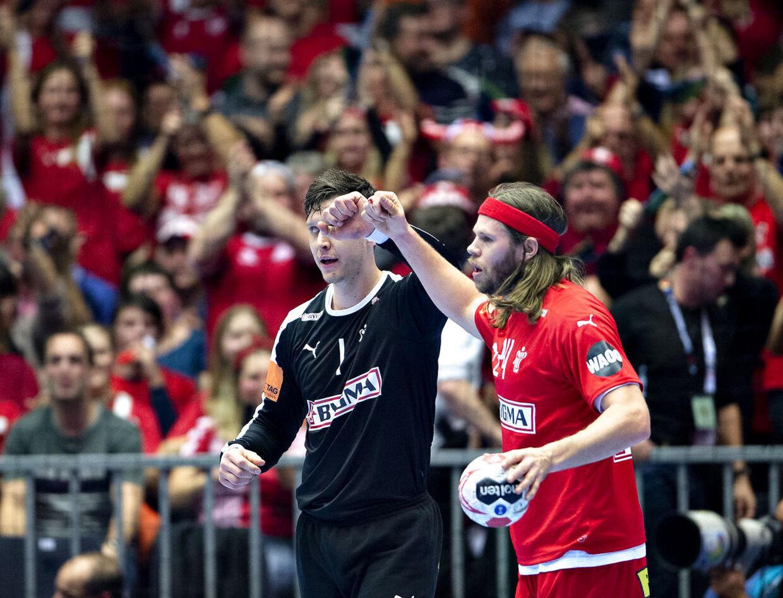 Niklas Landin és Mikkel Hansen,  mindketten az IHF listáján voltak.