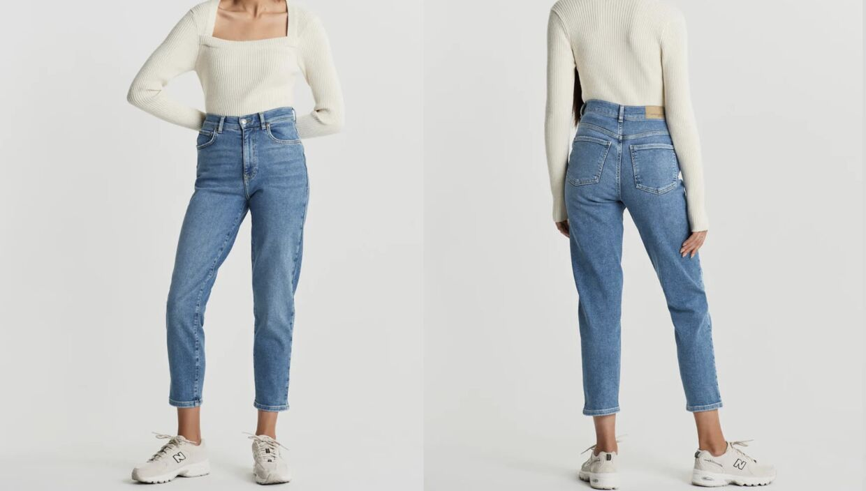 Comfy mom jeans fra Gina Tricot