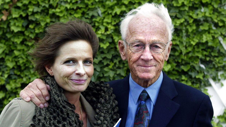 Bent Fabricius-Bjerre med Camilla Arndt.