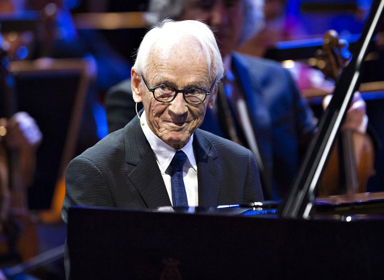 Bent Fabricius-Bjerre blev 95 år.