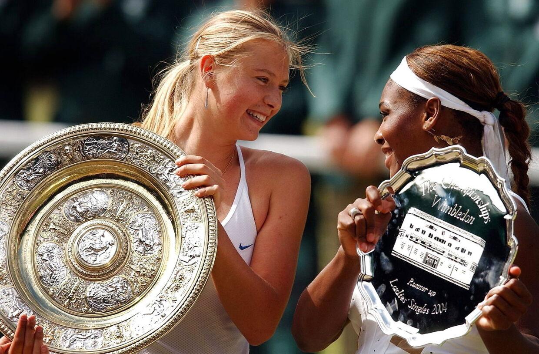 Maria Sharapova vandt som blot 17-årig Wimbledon, efter hun i finalen slog ingen ringere end Serena Williams.