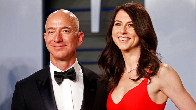 Jeff Bezos og MacKenzie Scott var gift fra 1993 til 2019.