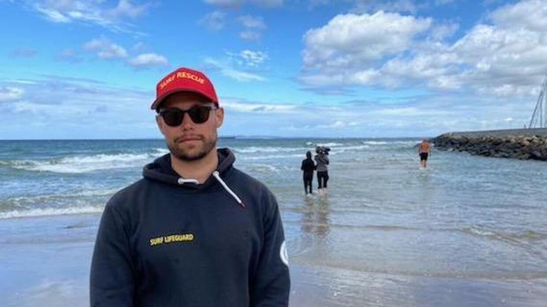 Asger Helmig har været kystlivredder i 11 år.