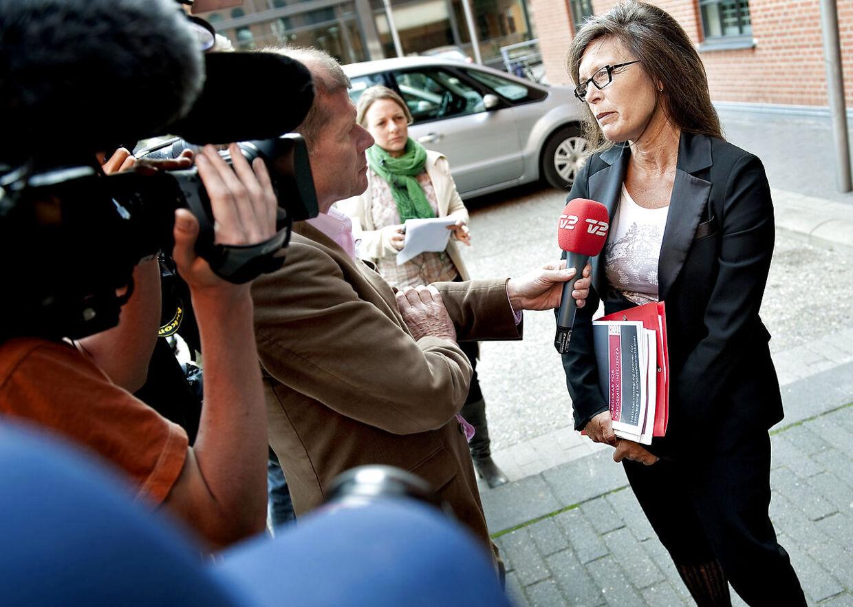 I sin tid i Sundhedsstyrelsen svarede Else Smith på spørgsmål om svineinfluenzaens spredning. Her i 2009 var hun forebyggelseschef, men blev direktør i 2011.