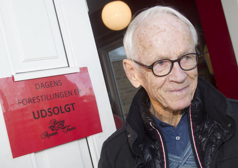 Bent Fabricius-Bjerre, komponist, 2014.