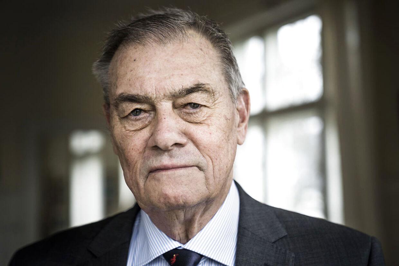 (ARKIV) Asger Aamund, erhvervsleder og debattør den 21. januar 2020. Onsdag den 19. februar 2020 fylder Asger Aamund 80 år. (Foto: Thomas Lekfeldt/Ritzau Scanpix)
