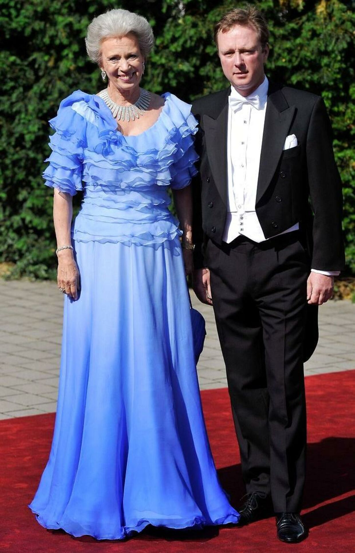 Prins Gustav af Berleburg er søn af danske prinsesse Benedikte.