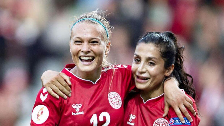 Stine Larsen har spillet 45 landskampe for Danmark.