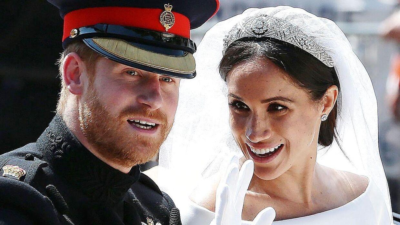 Det blev dronning Marys tiara, som hertuginde Meghan endte med at bære ved sit bryllup.