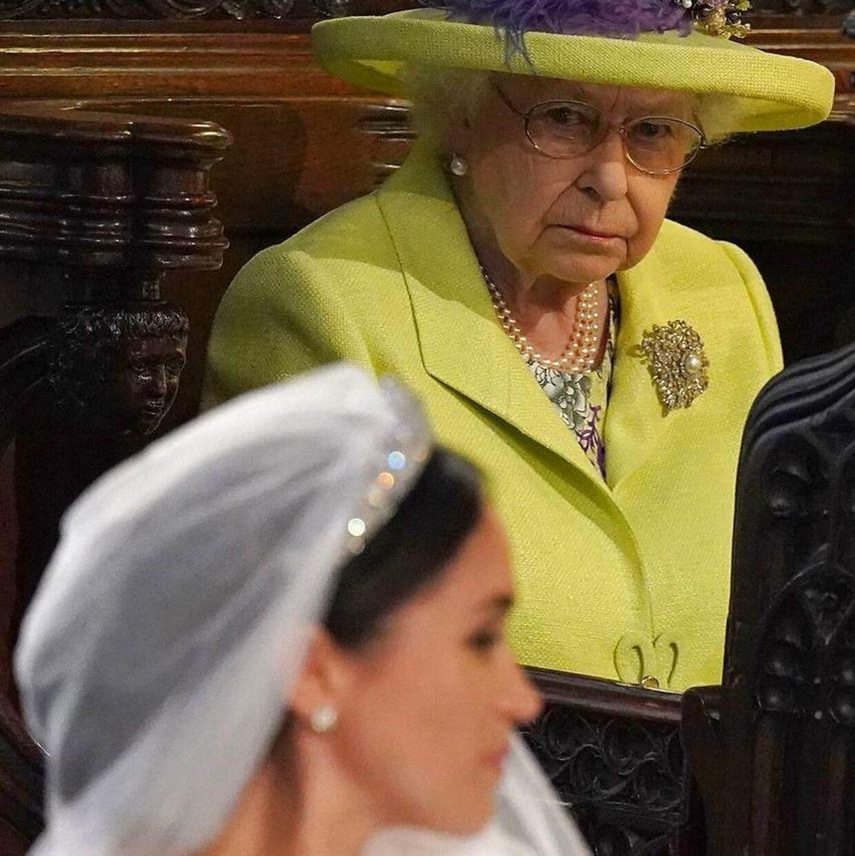 Angiveligt blev dronning Elizabeth så vred over hertuginde Meghans krav, at hun tog sig en snak med sit barnebarn, prins Harry.