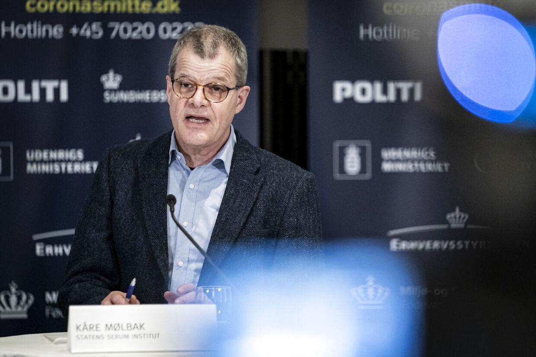 Kåre Mølbak, Statens Serum Institut.