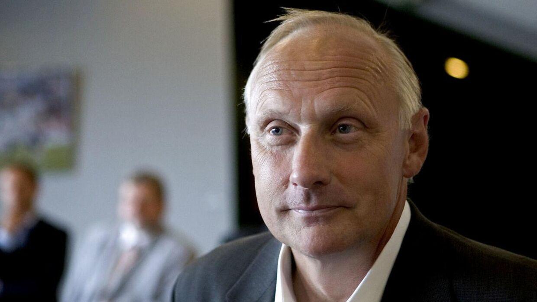 Tidligere sportsdirektør i FC København Niels-Christian Holmstrøm.