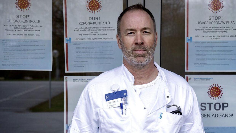 Thomas Benfield, professor og overlæge ved Hvidovre Hospital.