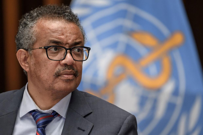 Tedros Adhanom Ghebreyesus, generalsektretær i WHO, vurderer, at pandemien bliver langvarig. (Arkivfoto) Pool New/Reuters
