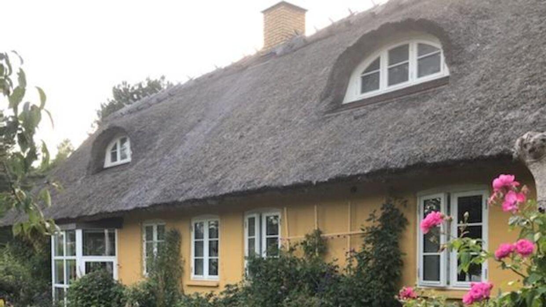 Solveig Kjærulffs hus i Rørvig i Nordvestsjælland.