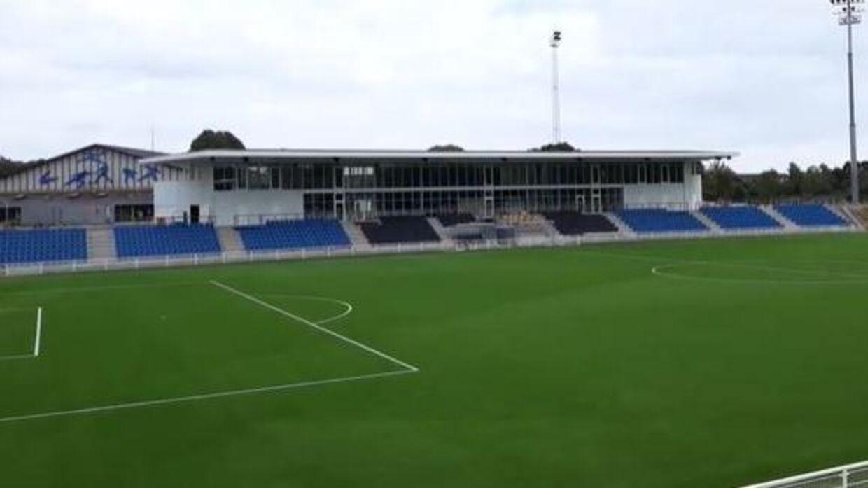 Det nye Helsingør Stadion.