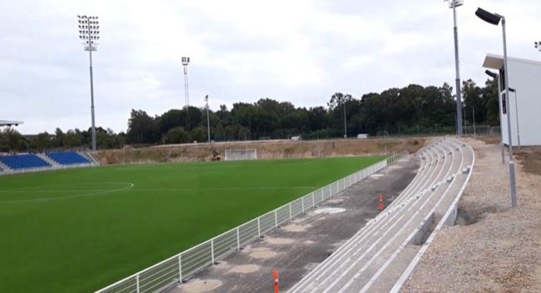 Det nye Helsingør Stadion efter indvielsen i august sidste år.