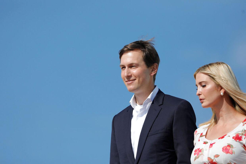 Ivanka Trump og hendes mand Jared Kushner tjente sidste år op til 990 millioner kroner.