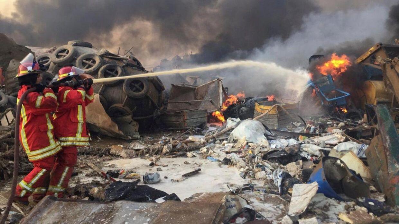 En eksplosion har tirsdag rystet beboere i Libanons hovedstad, Beirut.